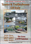 Trams And Trolleybuses Of Italy, De-Luxe 2 DVD Edition.