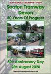 Seaton Tramway 50 Years Of Progress, 1970 - 2020.